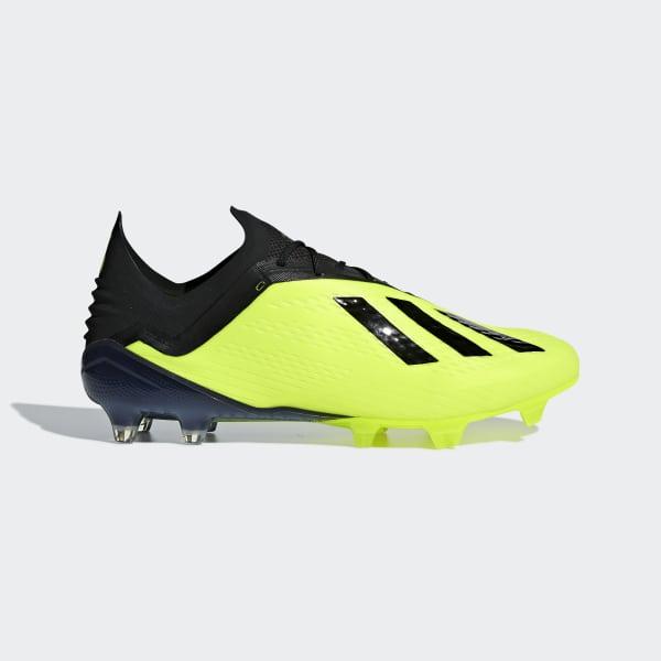 Zapatos de Fútbol X 18.1 Terreno Firme Amarillo DB2251