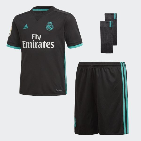 Real Madrid Away Mini Kit Black B31094