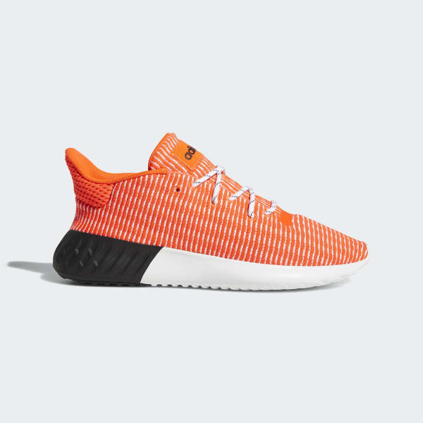Tubular Dusk Primeknit Shoes Orange B37737