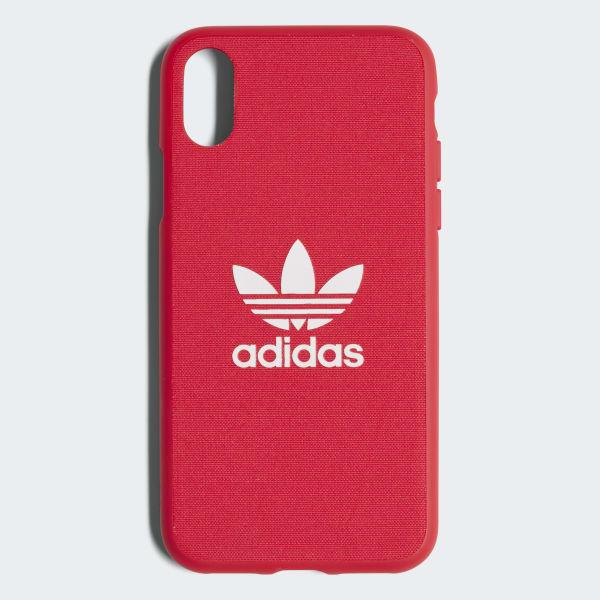 Funda iPhone X Snap Adicolor Rojo CJ6195