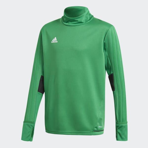 Tiro17 Trainingsshirt groen BQ2760