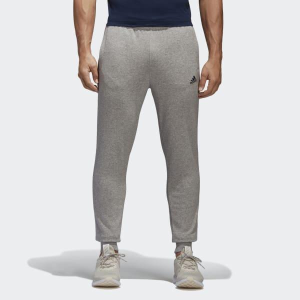 Pantaloni Essentials French Terry Grigio BK7442