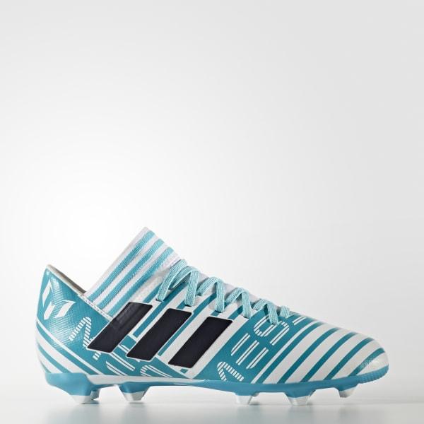 Scarpe da calcio Nemeziz Messi 17.3 Firm Ground Turchese BY2411