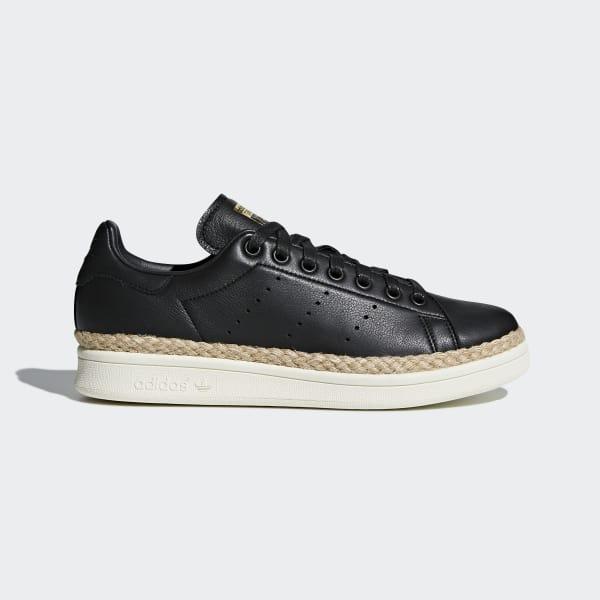 Stan Smith New Bold Schuh schwarz DA9536