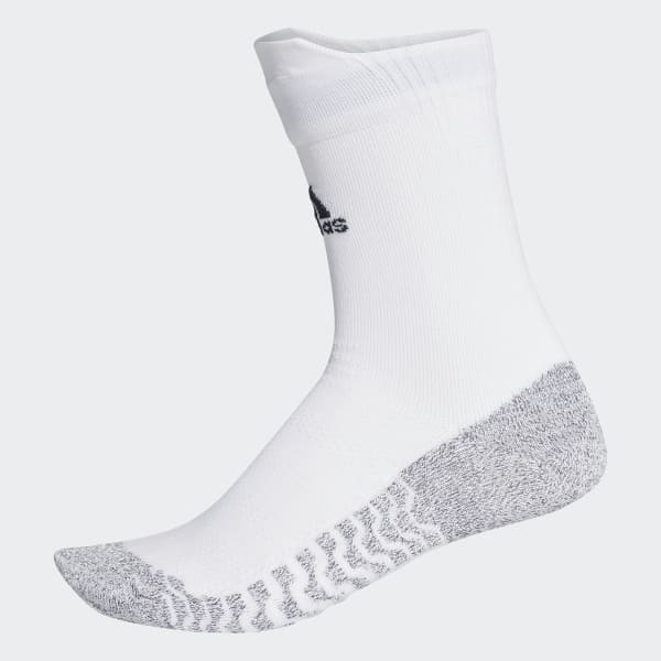 Alphaskin Traxion Ultralight Crew Socken weiß CG2656