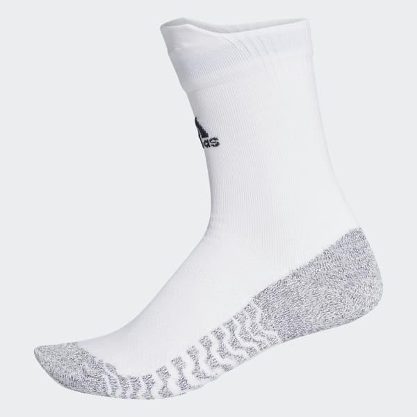 Alphaskin Traxion Ultralight Crew Socks White CG2656