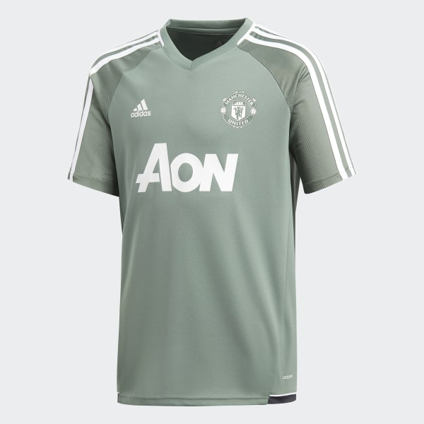 Manchester United Training Authentic Jersey Green BS4450