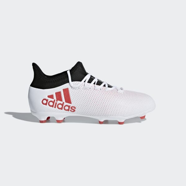 X 17.1 Firm Ground Cleats Grey CP8978