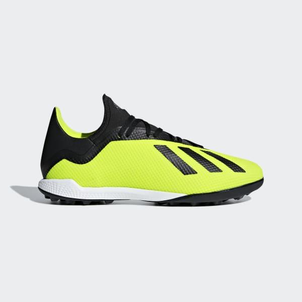 Zapatos de Fútbol X Tango 18.3 Césped Artificial Amarillo DB2475