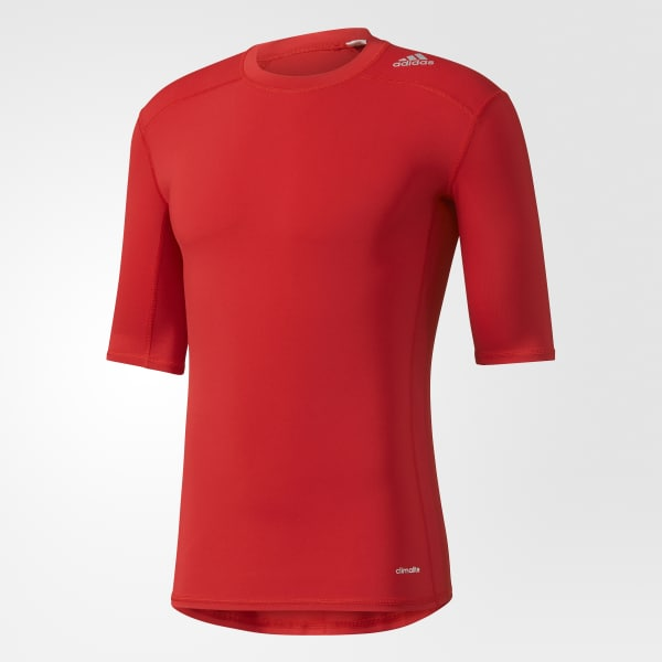 Techfit Base Tee Red AJ4968