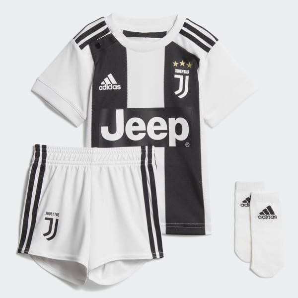 Infant Kit Home Juventus Bianco CF3492