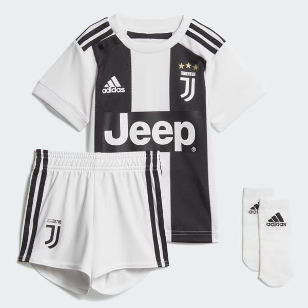 Kit bébés Juventus Domicile blanc CF3492