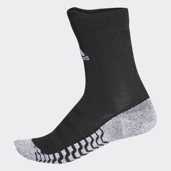 Alphaskin Traxion Ultralight Crew Socks Black CV7677