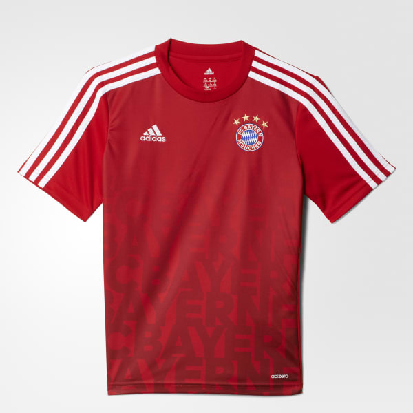 FC Bayern Home Pre-Match Shirt Red AC3885