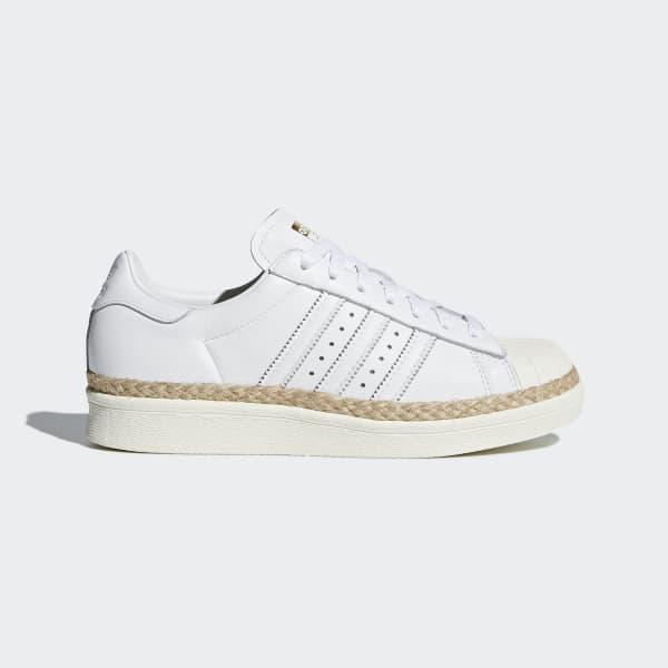 Superstar 80s New Bold Shoes Vit DA9573