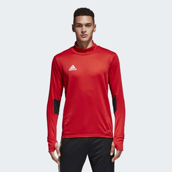 Camiseta manga larga entrenamiento Tiro 17 Rojo BQ2732