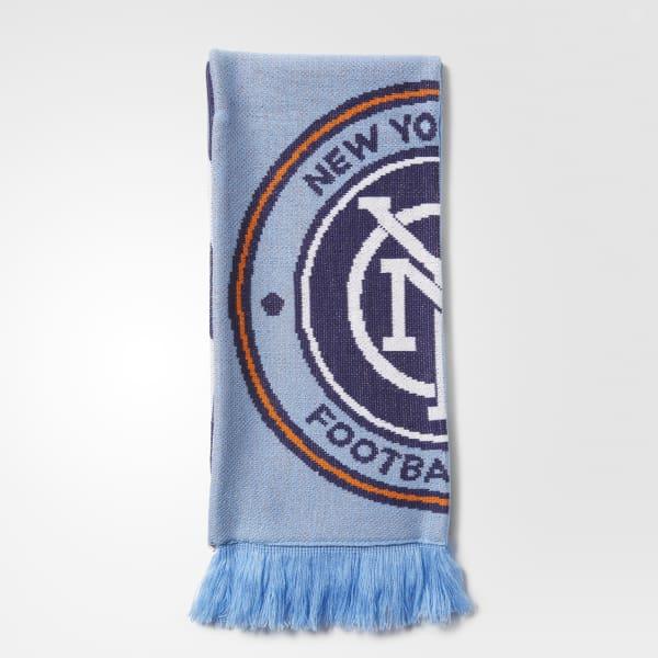 New York City FC Jacquard Scarf Multicolor BM9058