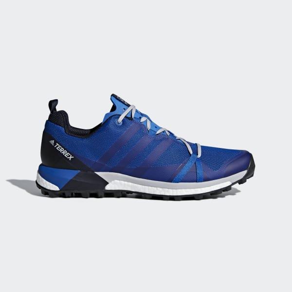 Chaussure TERREX Agravic bleu CM7616