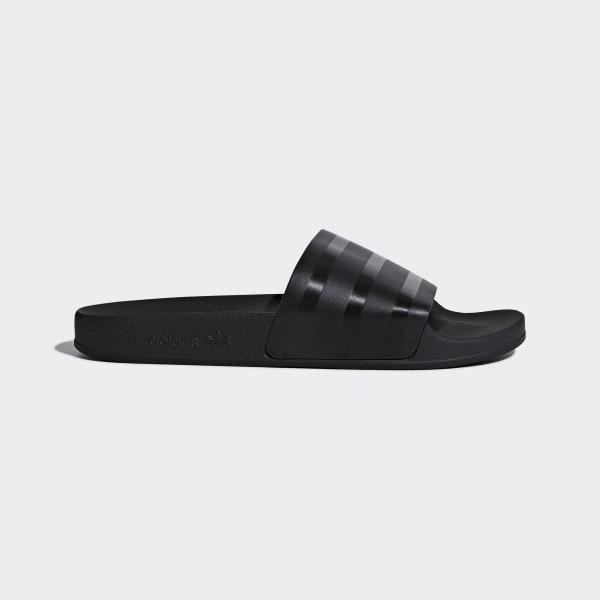 Adilette Slippers zwart CQ3094