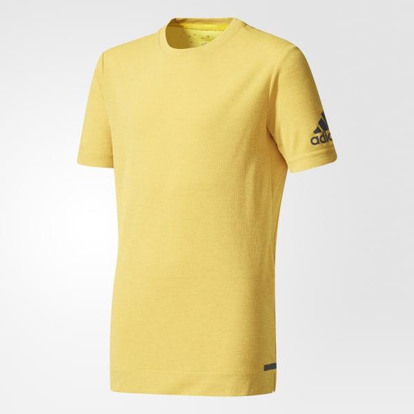 T-shirt Climachill jaune CE5861