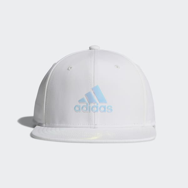 Speed of Light Snapback Hat White CK2304