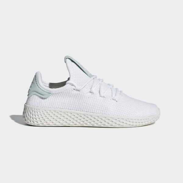 Chaussure Pharrell Williams Tennis Hu blanc BB6840