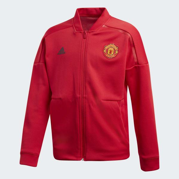 Manchester United adidas Z.N.E. Jacke rot CW7669