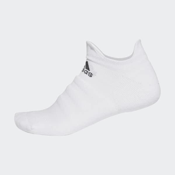 Alphaskin Lichtgewicht Gevoerde No-Show Sokken wit CV7693