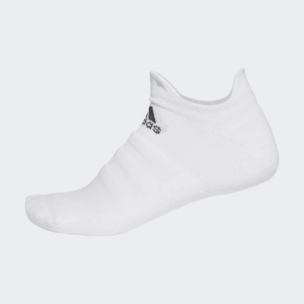 Alphaskin Lightweight Cushioning No-Show Socken weiß CV7693
