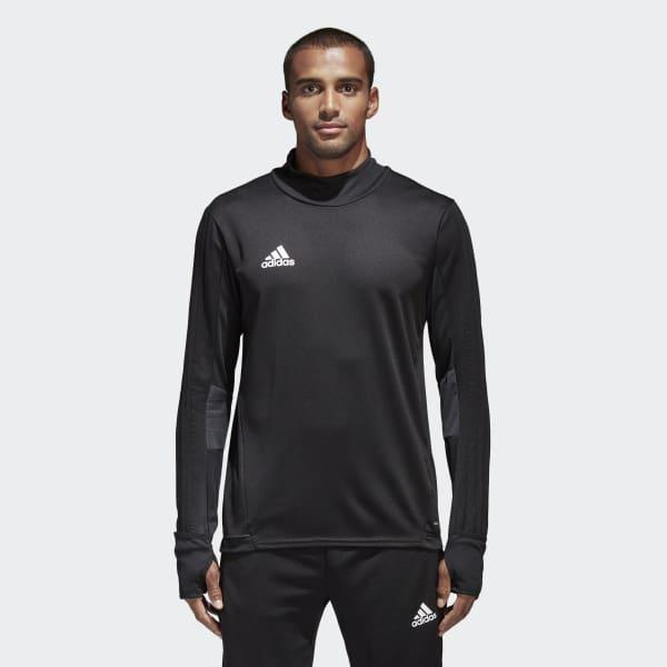 Tiro 17 Trainingsshirt schwarz BK0292