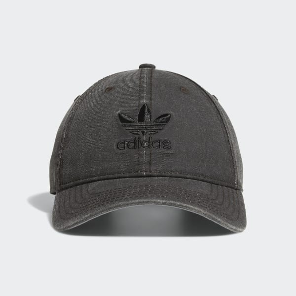 Relaxed Strap-back Hat Black CI7677