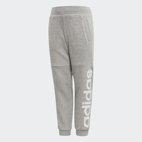 Pantaloni da allenamento Linear Grigio CF1251