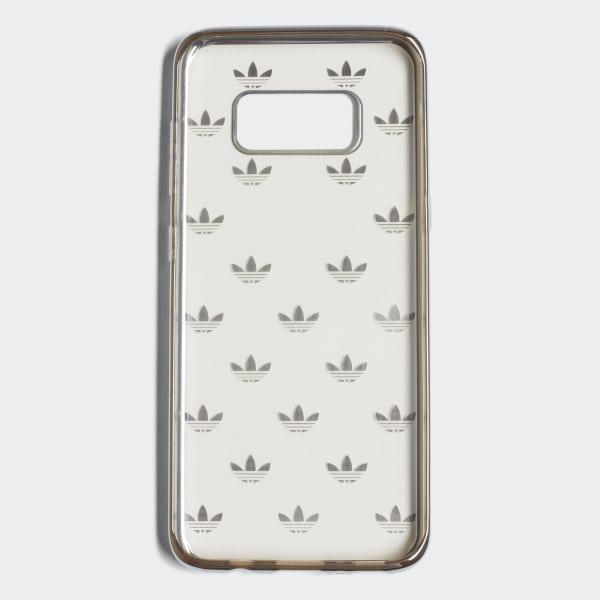Custodia Trefoil Clear Samsung G S8 Argento CJ6217