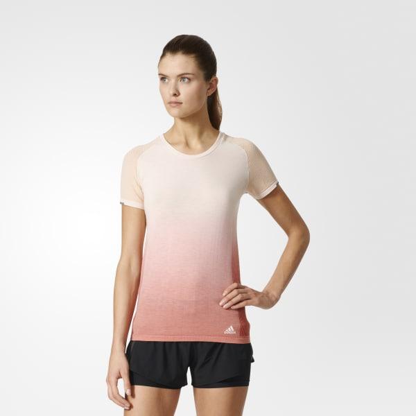 Camiseta Primeknit Wool Dip-Dye Beige AZ2896