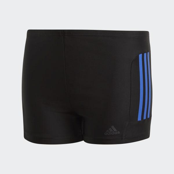 adidas 3-Streifen Boxer-Badehose schwarz CW4815