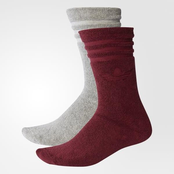 Winter Crew Socks 2 Pairs Grey BR4983