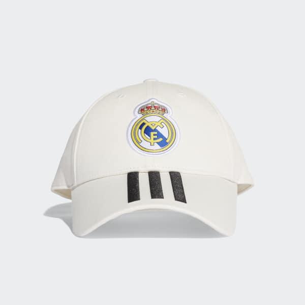 Gorra 3 Rayas Real Madrid Blanco CY5600