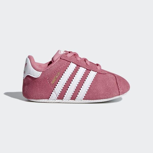 Gazelle Crib Shoes Pink CM8228