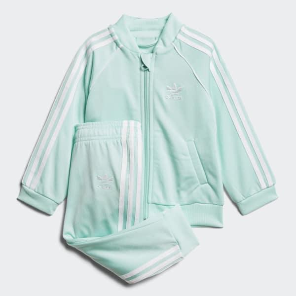 SST Track Suit Turquoise D96059