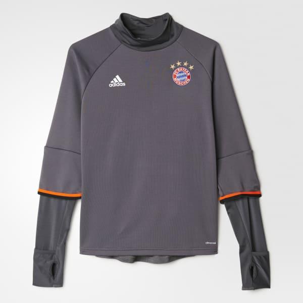Haut d'entraînement FC Bayern Munich gris AZ5352
