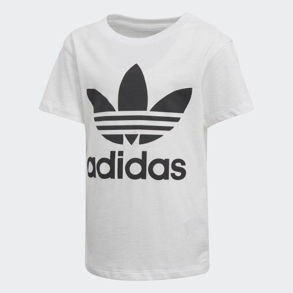 Trefoil T-shirt wit D98852
