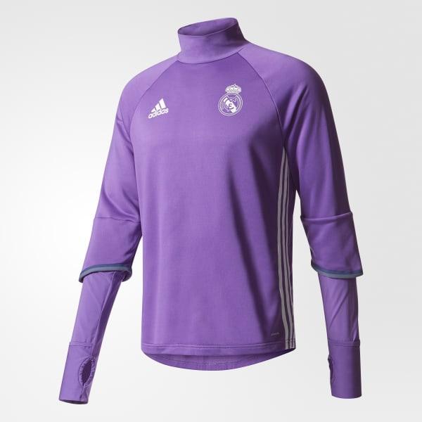 Real Madrid Training Top Purple AO3131