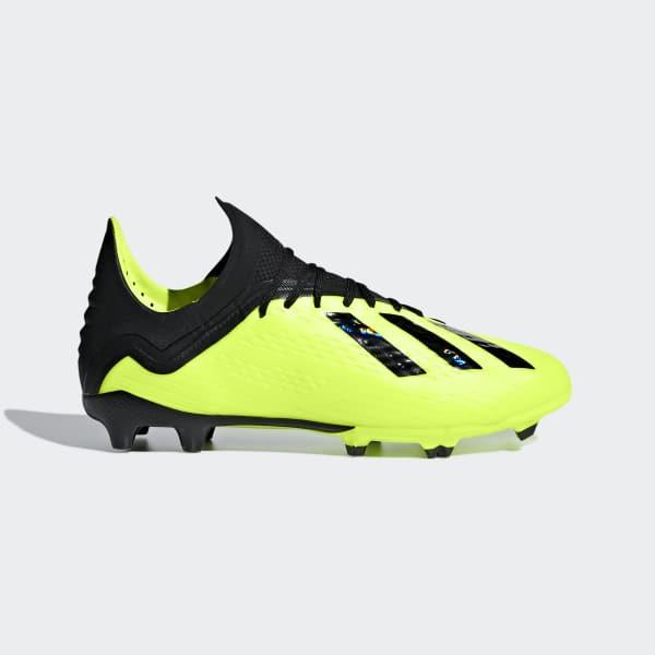 X 18.1 Firm Ground Voetbalschoenen geel DB2429