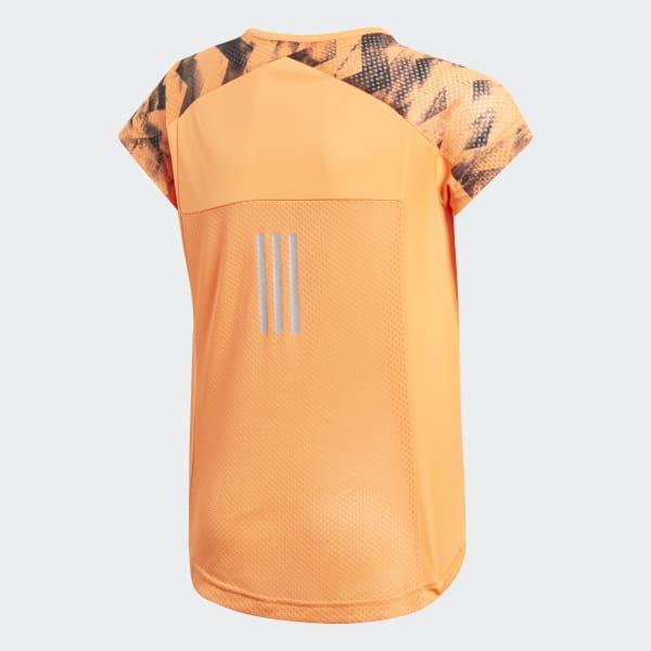 T-shirt Training Run Arancione CF7232
