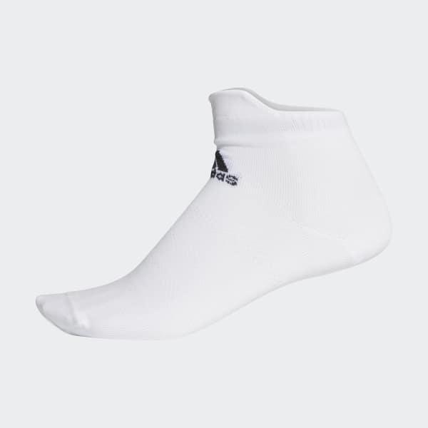 Alphaskin Ultralichte Enkelsokken wit CV8862