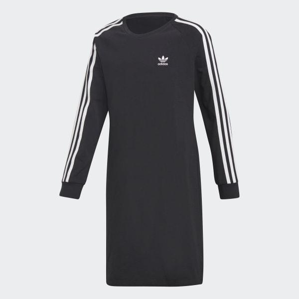Trefoil Kleid schwarz DH2682