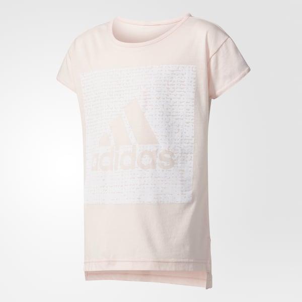 Box Logo T-Shirt rosa CF1724