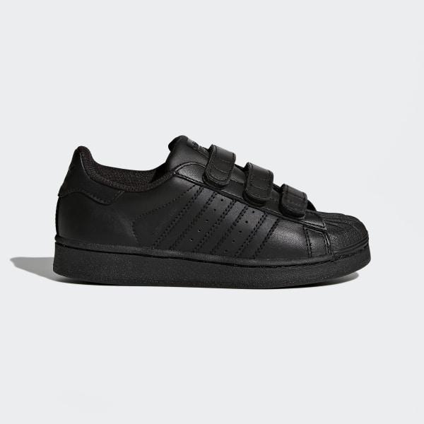 Chaussure Superstar Foundation noir B25728