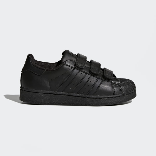 Superstar Foundation Shoes Black B25728