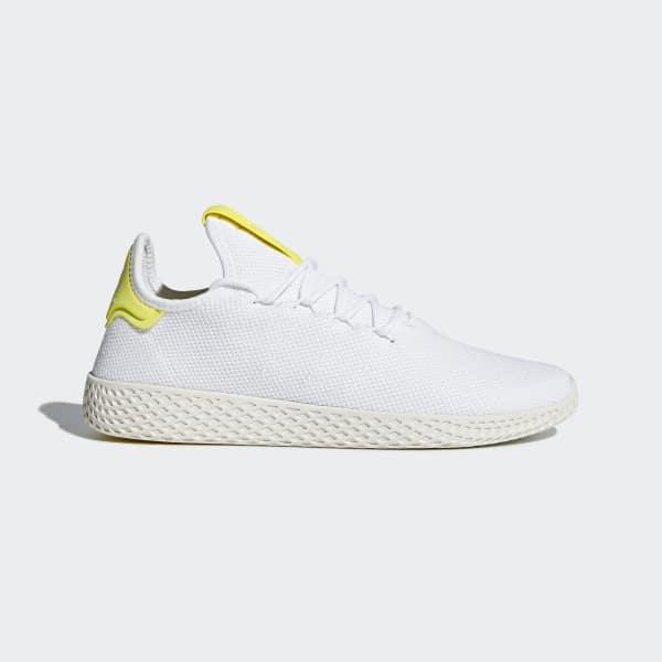 Chaussure Pharrell Williams Tennis Hu blanc B41806